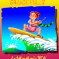 Surfing granny