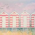 Pink Beach Huts
