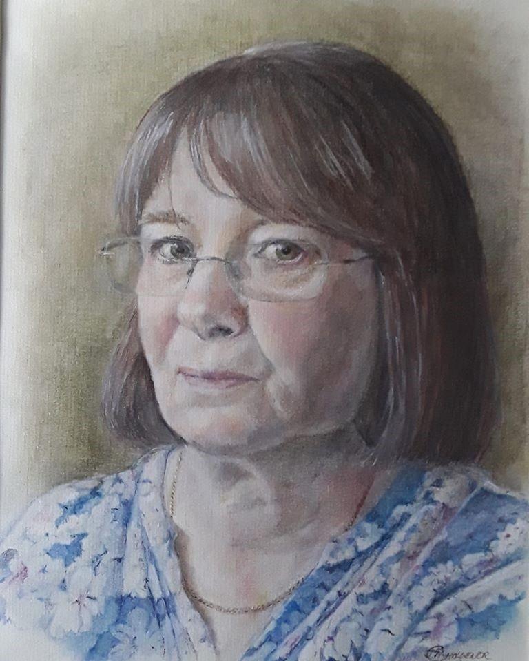 Portrait 'Gwen'  (revisited)