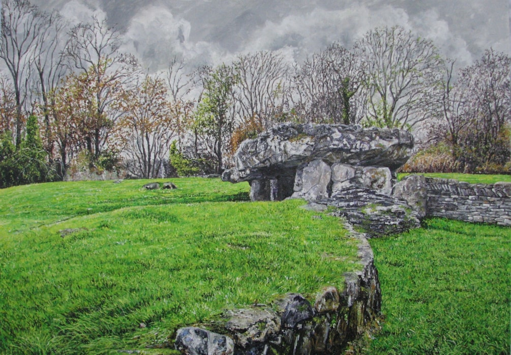 Tinkinswood Burial Chamber - The Vale of Glamorgan