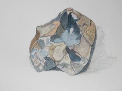 JUST A CHUNK OF ROCK