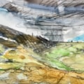 Three plein air sketches in the Roaches area today. Fantastic skies but its flipping freezing!