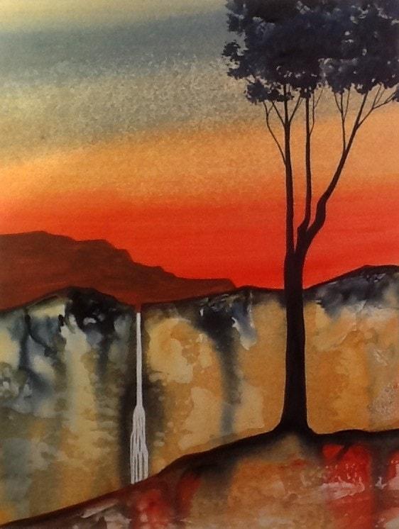 Vermilion sunset
