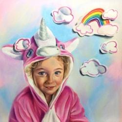 the pink unicorn