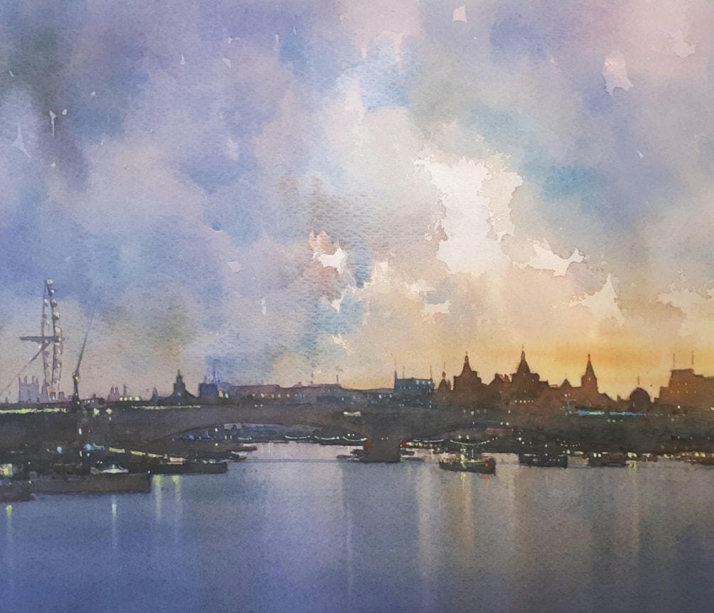 Evening, River Thames