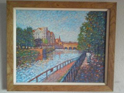 a summers day .. bath city .. pulteney bridge SOLD