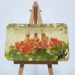 Abstract Miniature Art in Resin / Eproxy