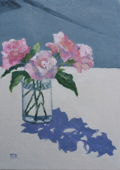 Pink Roses, June Sunshine