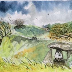 Sheltering Sheep