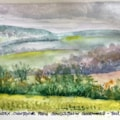 south downs v1 (watercolour version)
