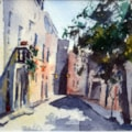 Shady Alley Mdina