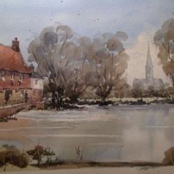 Harnham Mill. Nr Salisbury .Wilts