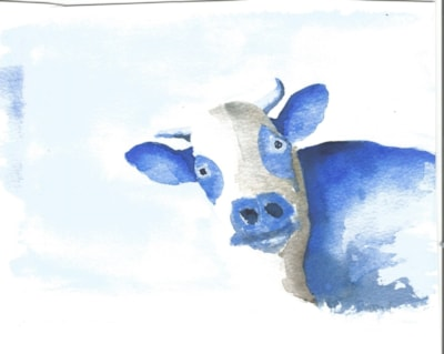 Bloo cow