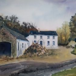 ''Old Farmhouse Now Disused''