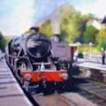 Steam Trains Arriving
