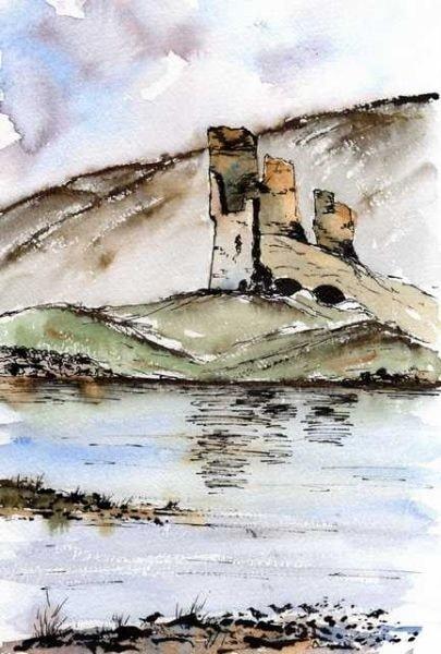 Ardvrek Castle Ruins