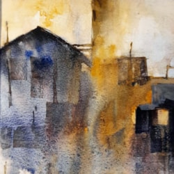 abstract industrial landscape 2