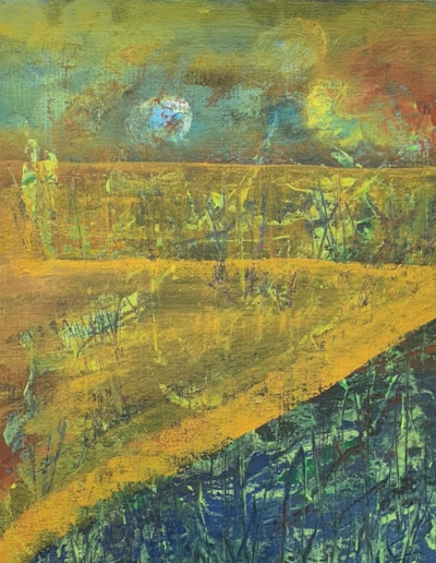 abstract marshlands