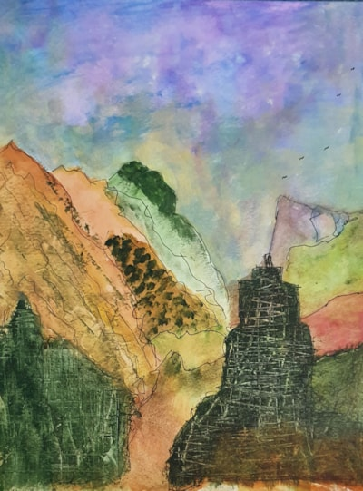 abstract mountains final