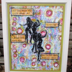 Mixed Media - Free From Domestic Abuse