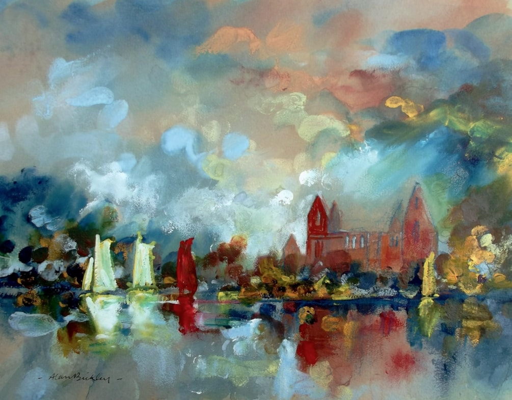 Tintern Abbey and Yachts