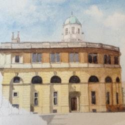 Sheldonian Theatre, Oxford.
