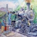 Locomotive No 4 at Realp