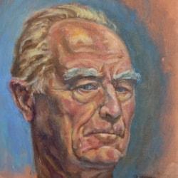 Self Portrait - at 77.