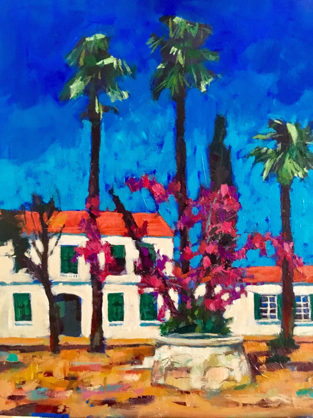 'The Old Police Station at Polis' - Cyprus