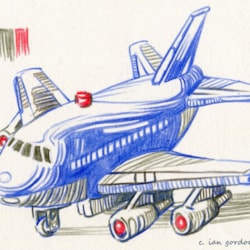 airliner toy
