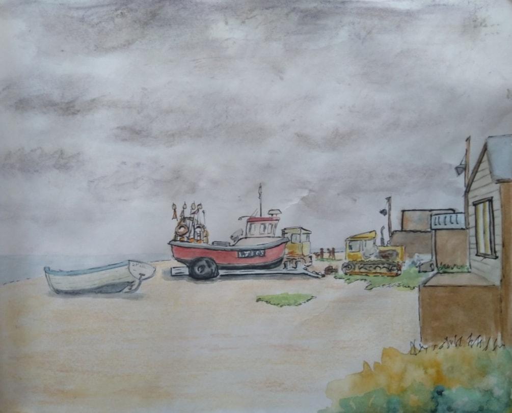 aldeburgh beach sept 20