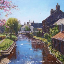 a may morning, alyth