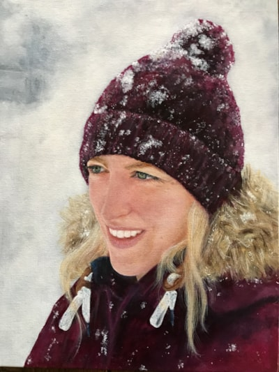 Laura in the Snow