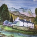 Lakeland cottage. An attempt to follow Malcolm Coils.