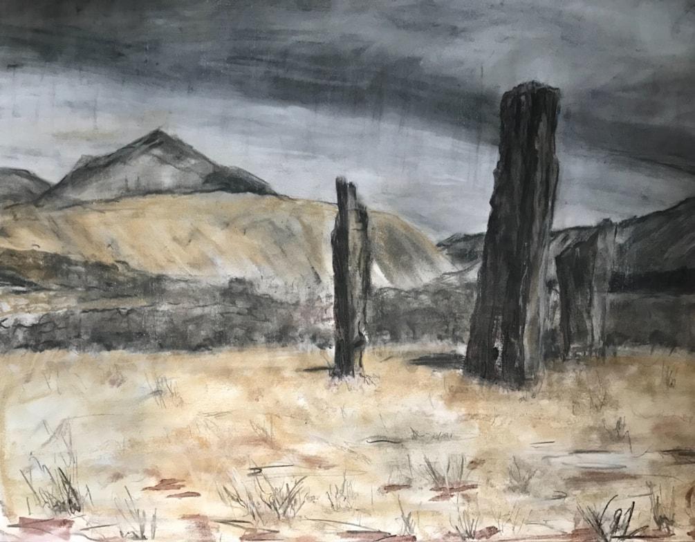Standing stones on the Isle of Arran