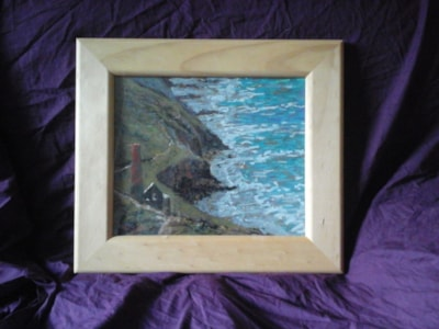 cornwall tin mine seaside view .. SOLD