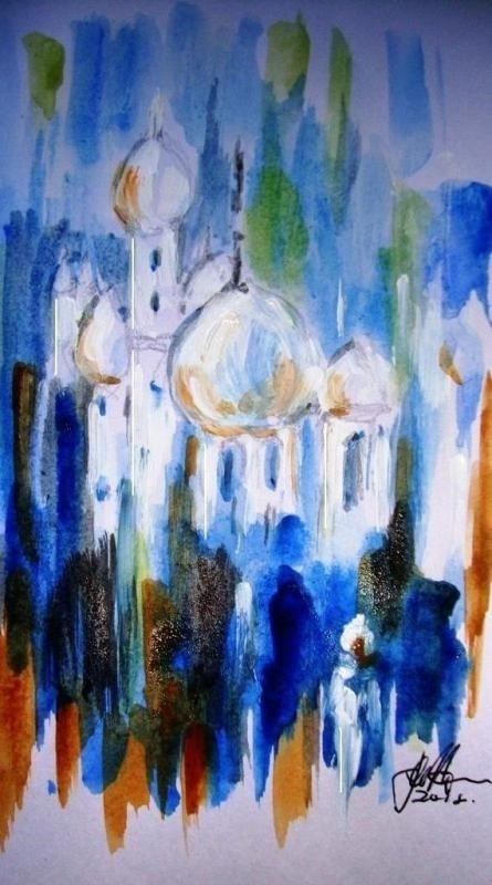 Minarets...