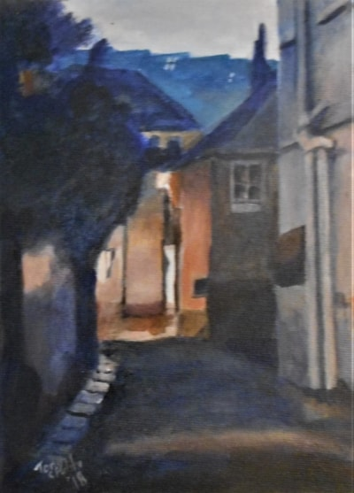 Twilight in St Ives