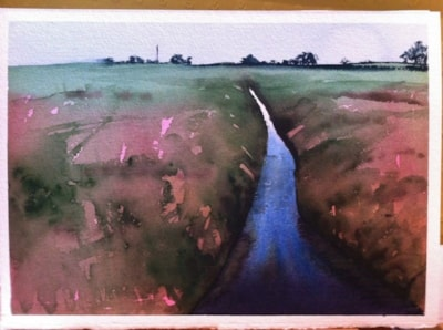Ditch, after Paul Talbot-Greaves