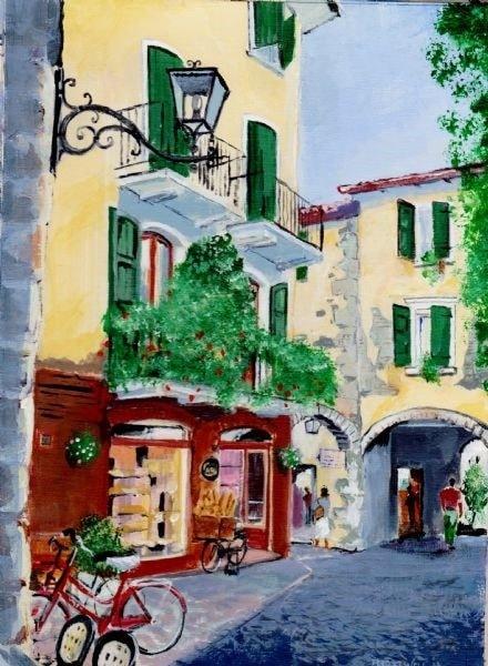 Street in Garda