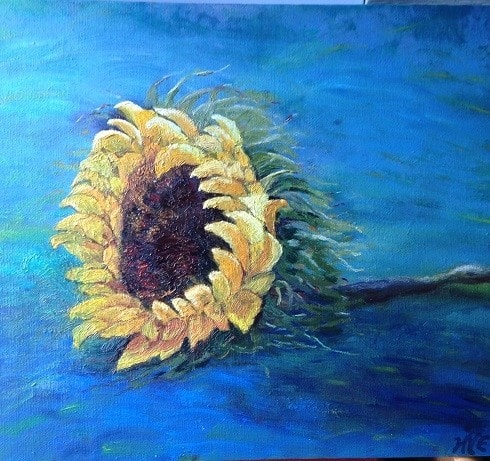 Contented sunflower