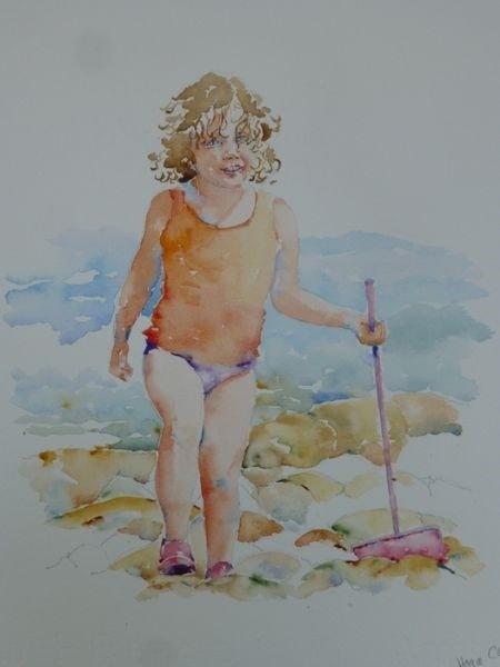 Fisherwoman!