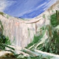 Limestone cliffs and Ash trees