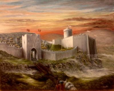 Dryslwyn Castle early 14th century
