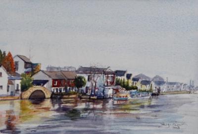 Zhujiajiao lakeside