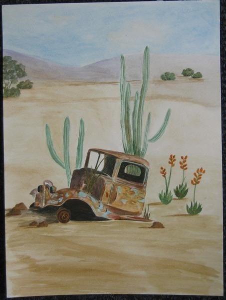 Abandoned Car 1