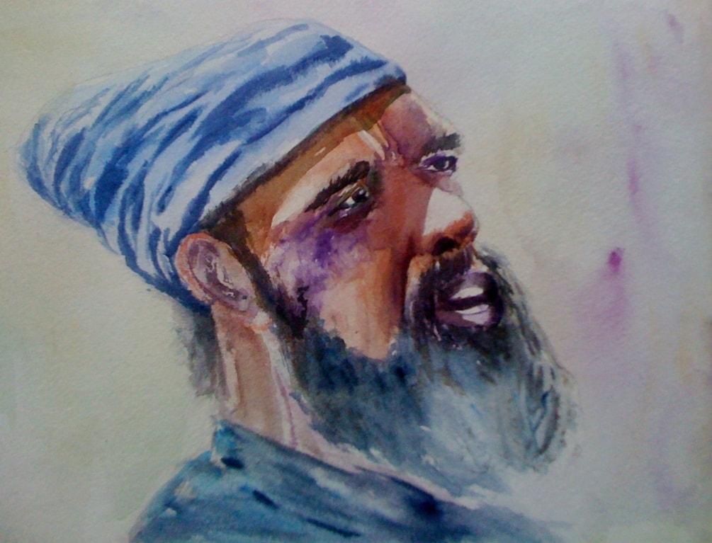 Rasta portrait