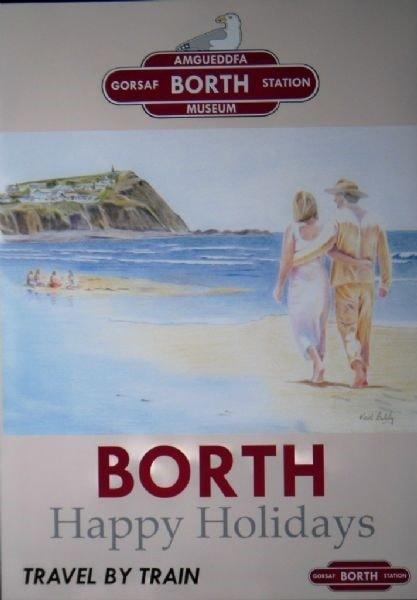 Borth Railway Museum Poster