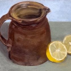 Provençal jug and lemon