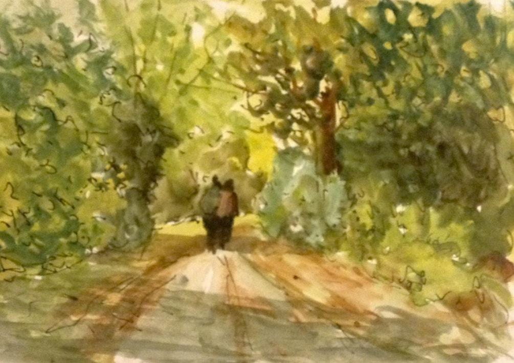 Garden Path, Foxhill 2.